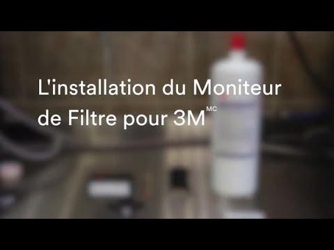 L'installation du Moniteur de Filtre pour 3M