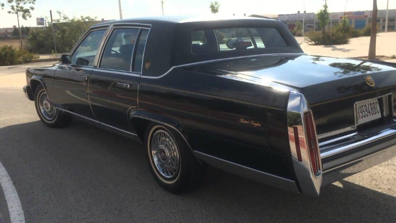 Cadillac Fleetwood Brougham Elegance  1985  YouTube