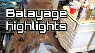 Balayage Highlights In Toronto…