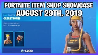*NEW* CATASTROPHE SKIN & JAGGED EDGE PICKAXE! (Fortnite Item Shop 29th August)