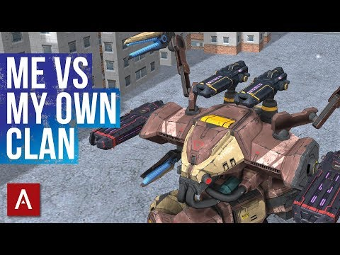 War Robots Epic Games During My Live Streams / Me vs My Own Clan / War Robots Gameplay | WR