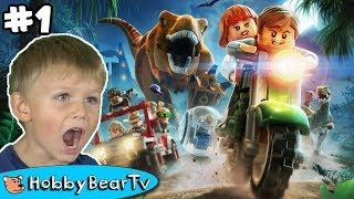 Lego Jurassic World 1 Dinosaur Bones HobbyBearTV