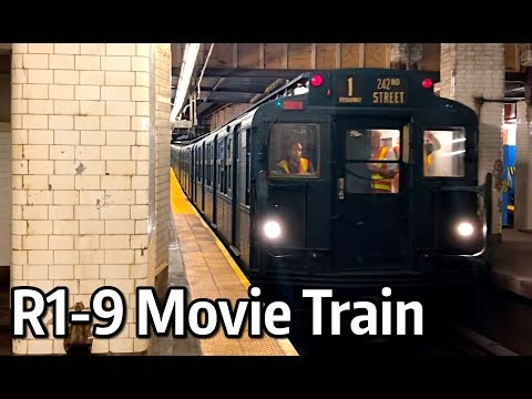 ⁴ᴷ R1-9 Museum Movie Train on the J Line