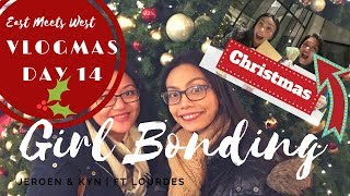 🎄VLOGMAS Day 1️⃣4️⃣ | ALL IN ONE Girl Bonding | De Bijenkorf | The Kitchen | Ft Lourdes