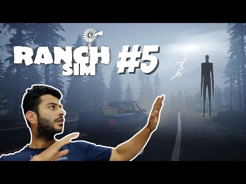 Ranch Simulator Gameplay 5 | A Mystery Man on My Ranch | Hindi Gameplay |