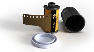 How to load 35mm film into a film camera