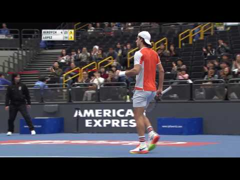 IPTL 2016: UAE Royals vs Indian Aces - Point of the Match (Men's Singles)