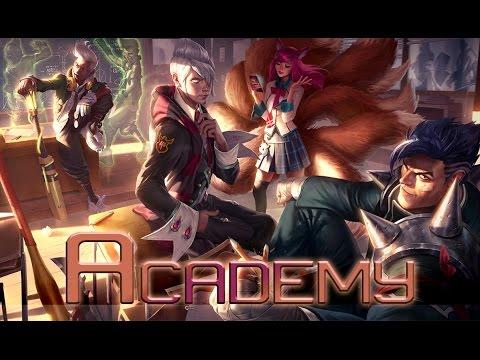 League of Legends: Academy Ahri (Skin Spotlight)