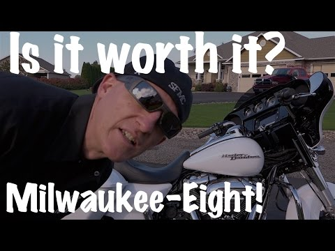 Harley Street Glide-Milwaukee Eight 107 CI Motor-Test Ride Review | Motorcycle Podcast