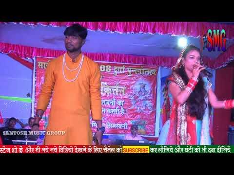 सुपरस्टार राधा मोरिया और बबलू   Jagran Bhajan 💓#santosh Music Group,Mahamuqubla