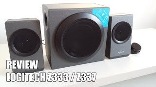 Review Logitech Z337 / Z333 Altavoz 2.1 Bluetooth para PC