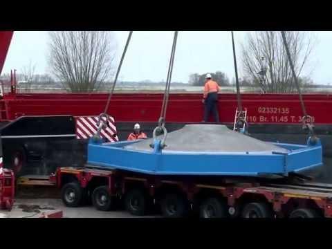 Zwaar transport bij Breman Machinery
