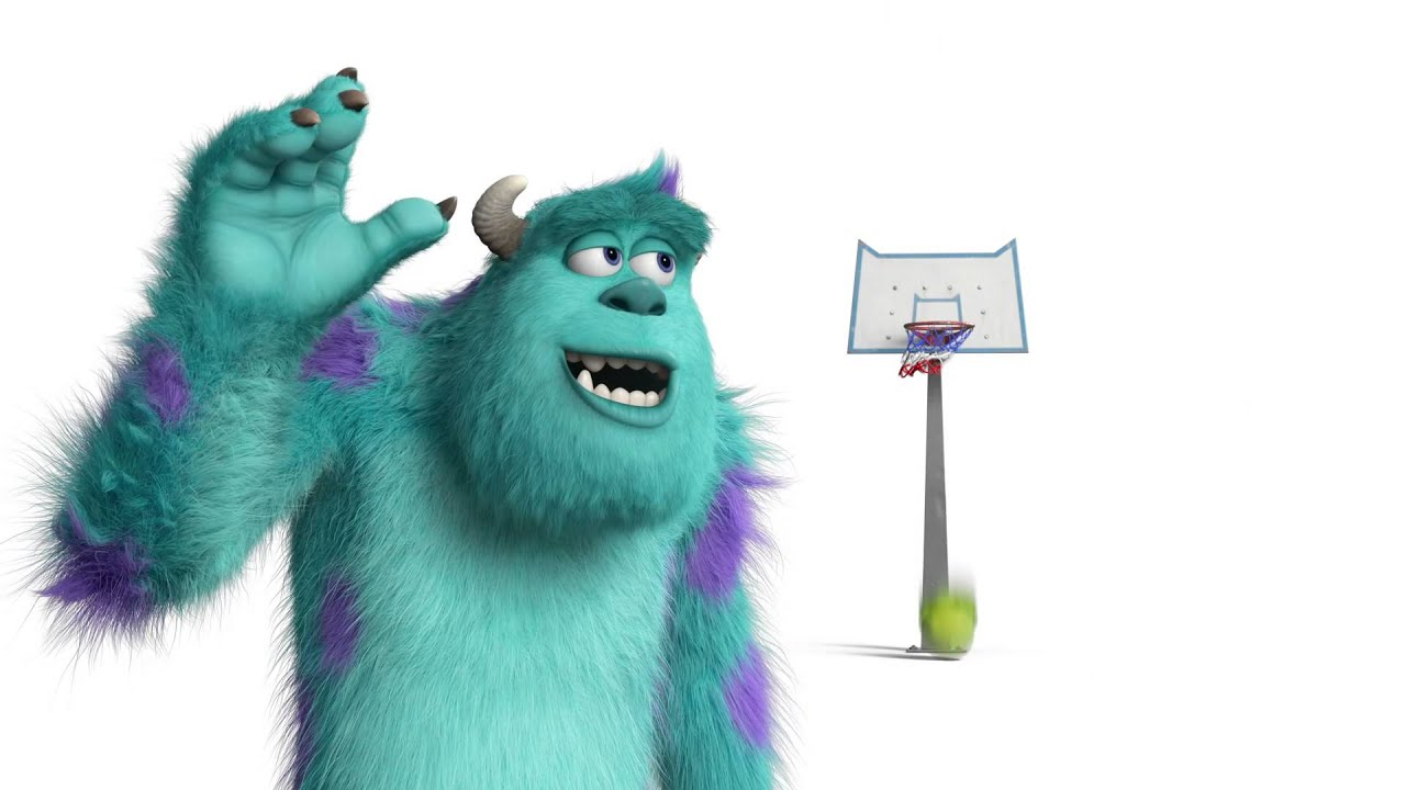 Monsters university mike sulley basketball youtube voltagebd Image collections