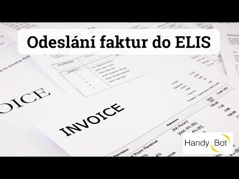 Odeslání faktur do ELIS