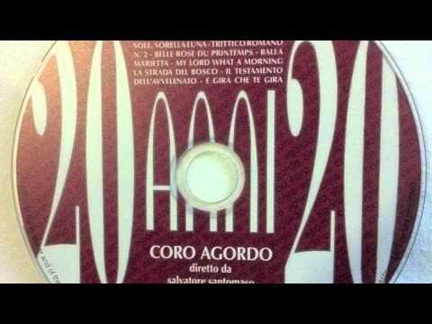 CORO AGORDO - Fratello Sole, Sorella Luna - Arm. L. Pietropoli
