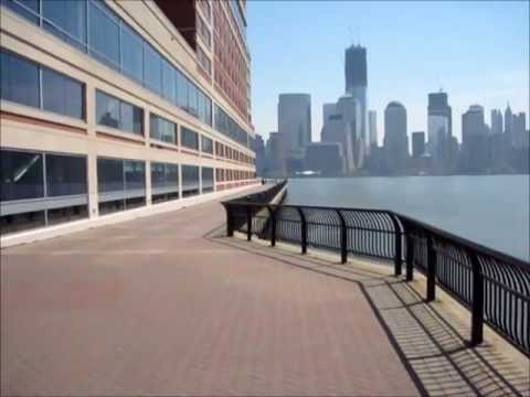 Hudson River Waterfront Walkway at Exchange Place, Jersey City, NJ 4.16.2012_c.wmv