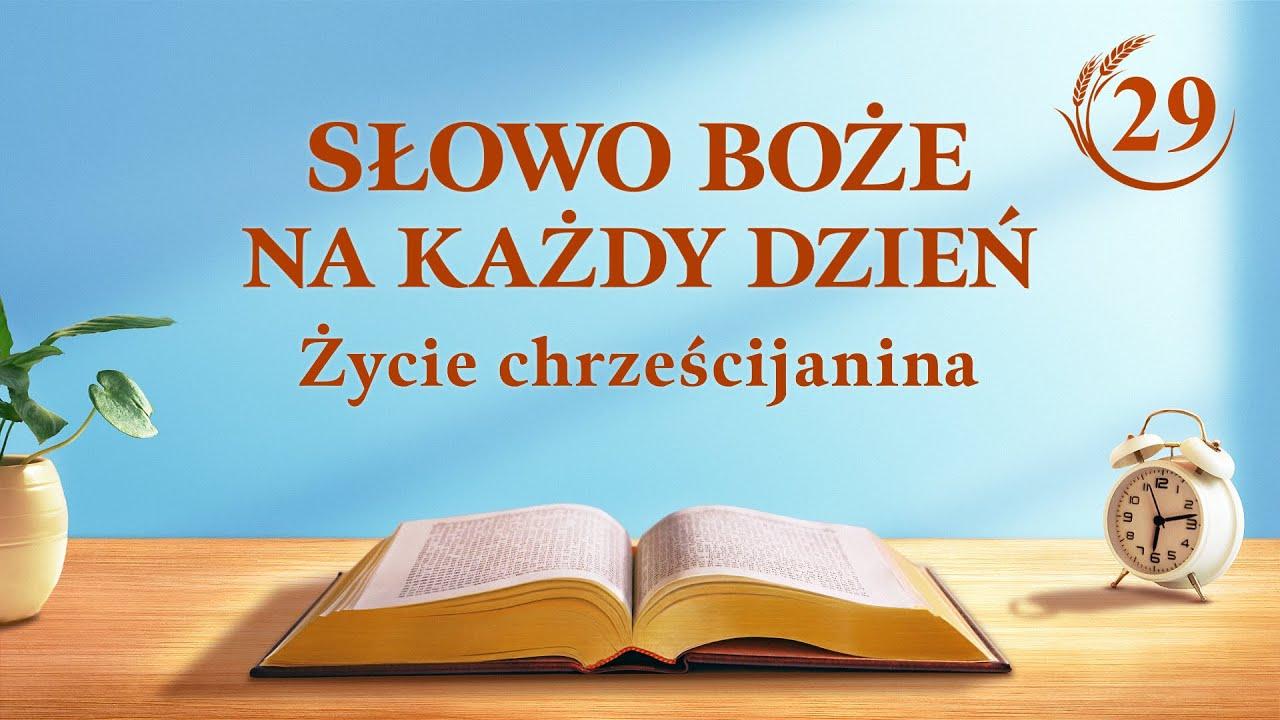 """Słowo Boże na każdy dzień   """"Wewnętrzna prawda dzieła podboju (1)""""   Fragment 29"""