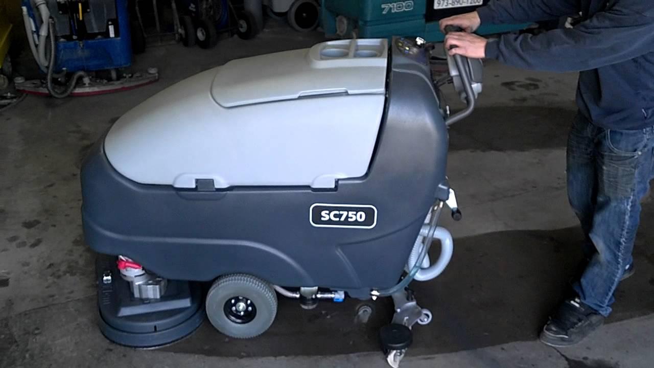 Advance Sc750 Floor Scrubber Youtube