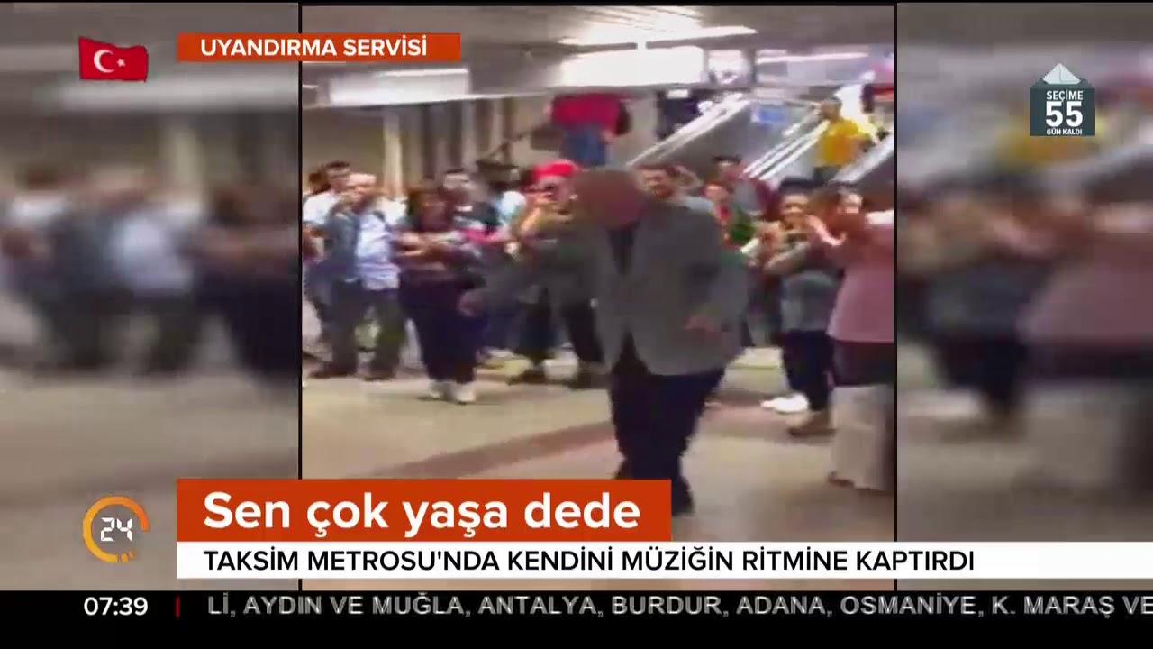 Taksim Metrosunda Özgürce Dans Eden Amca ile ilgili görsel sonucu