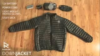 Ravean - Heated Down Jacket