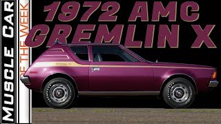 1972 AMC Gremlin X 304 Muscle Car Of The Week Episode 330