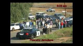 Eviction Protest Slide Show - Jamul, CA