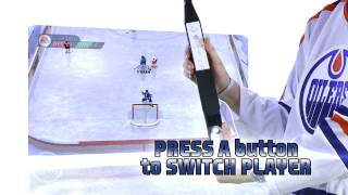 NHL Slapshot - Controls video - Nintendo Wii