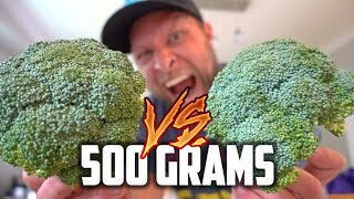 The RAW Broccoli Challenge (vs Matt Stonie)