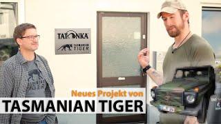 Projekt WOLF - Dieses Projekt war bis eben geheim - Zu Besuch bei TASMANIAN TIGER