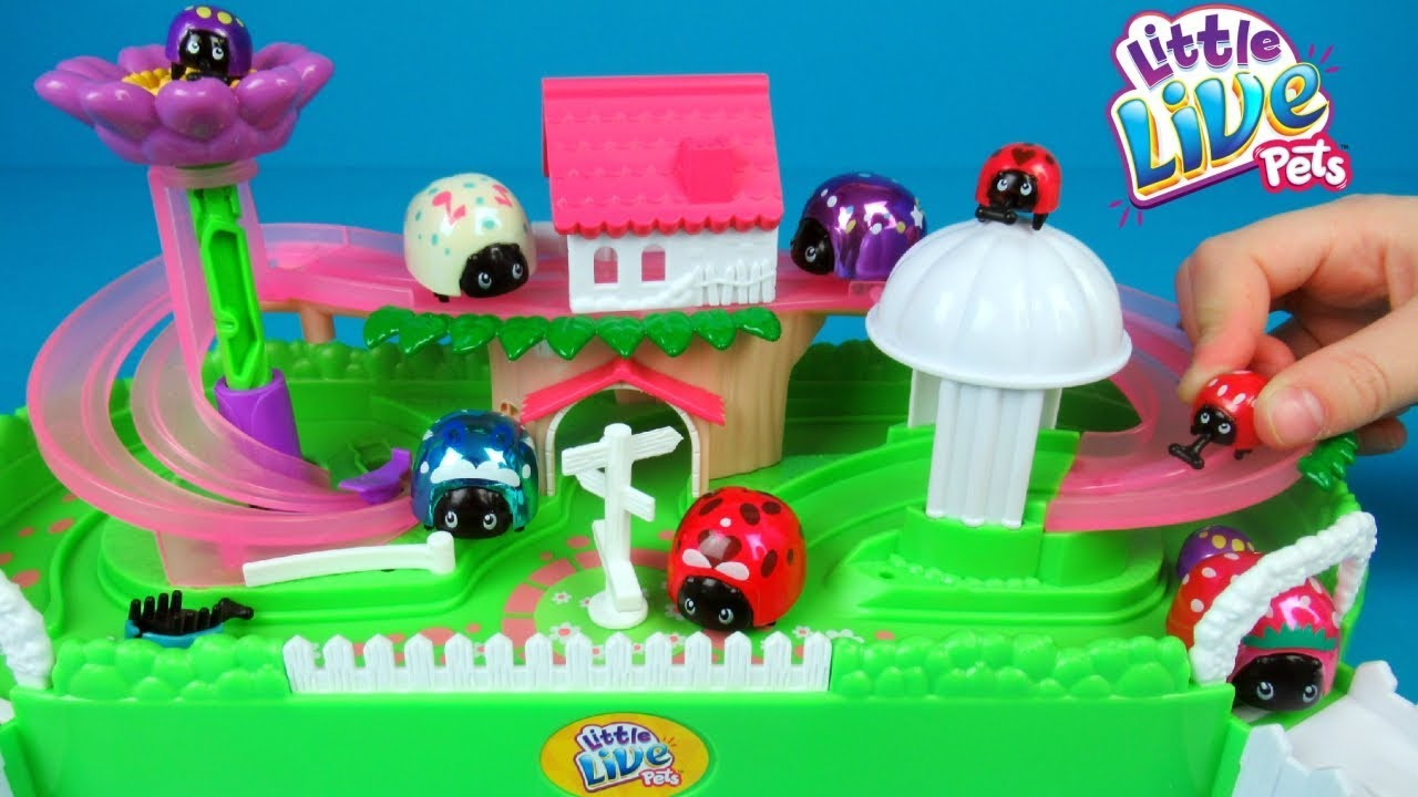 Little Live Pets Ladybug Playset Toy Unboxing And Review