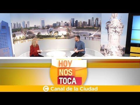 """<h3 class=""""list-group-item-title"""">Conversación y café con Mimí Ardú en Hoy nos toca</h3>"""