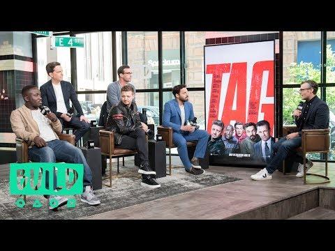 "Ed Helms, Jake Johnson, Jon Hamm, Jeremy Renner & Hannibal Buress On Their New Comedy, ""Tag"""