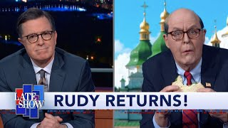 Rudy Giuliani Returns From His Conspiracy Tour Of Ukraine