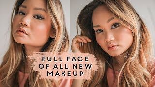 FULL FACE USING ALL BRAND NEW MAKEUP & FIRST IMPRESSIONS | Victoria