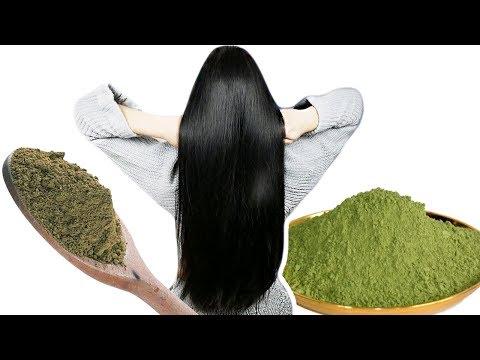 Как покрасить волосы в черный цвет басмой