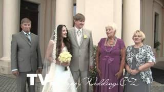 TV.HappyWedding.cz - Почему Сергей и Надежда женились в Чехии