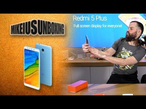 Xiaomi Redmi 5 & 5 plus - Mikeius Unboxing Live!