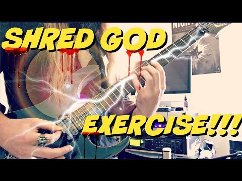 Best Shred Guitar Exercise Ever | Mechanics Of Superior Technique!!!
