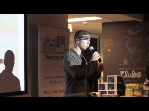 60s pitch compilation at Startup Weekend Vancouver 2015 (no editing)