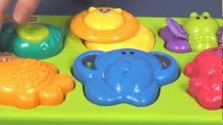 Growing Baby Animal Activity Puzzle/ Interaktywne Puzzle Wesołe Zwierzątka- Fisher Price - Mattel