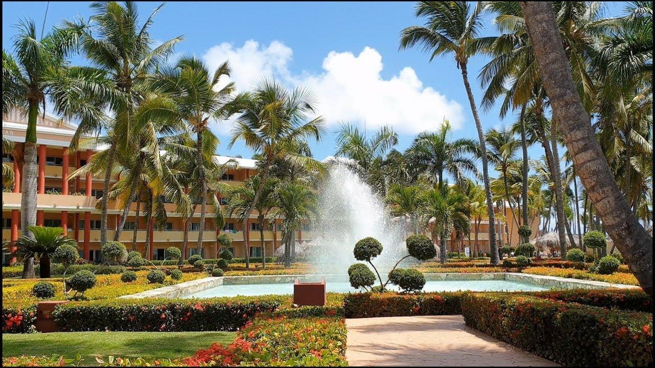 Dominican Republic,Hotel Iberostar Dominicana, Punta Cana 4K, Summer 2019