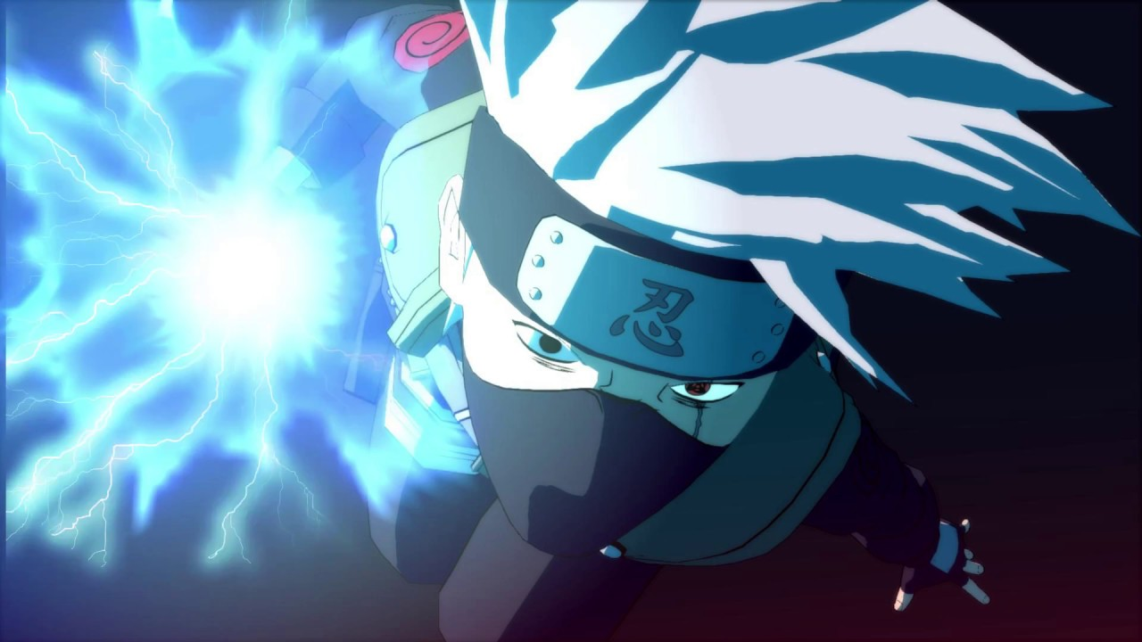 wpe 】chidori kakashi hatake w/ jutsu audio // wallpaper engine link