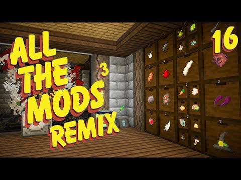 All The Mods 3 Remix Ep. 16 Item Sorting + Max Upgrades