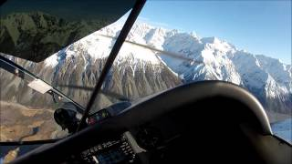 Cessna 185 Southern Alps New Zealand