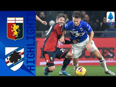 Genoa 0-1 Sampdoria | Gabbiadini's Late Goal Gives Sampdoria the Win! | Serie A TIM
