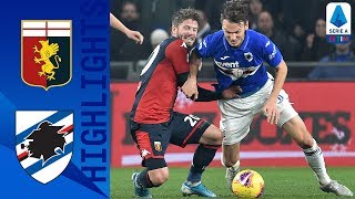 Genoa 0-1 Sampdoria | Gabbiandini's Late Goal Gives Sampdoria the Win! | Serie A TIM