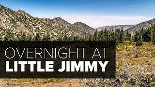 Little Jimmy Overnight - San Gabriel Mountains