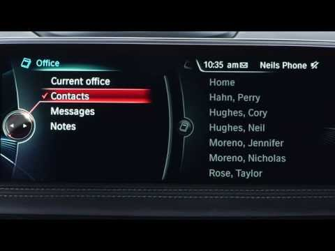 Store And Edit Contacts On Your BMW's Hard Drive | BMW Genius How-To