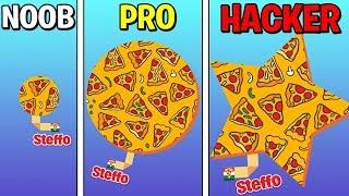 NOOB VS PRO VS HACKER IN PAPER.IO