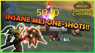 MES Insane One-Shots in TBC Arena!! | Daily Classic WoW High…